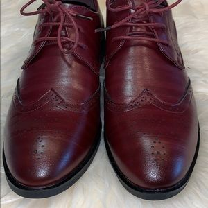 Other - Wingtip leather shoe NWOT